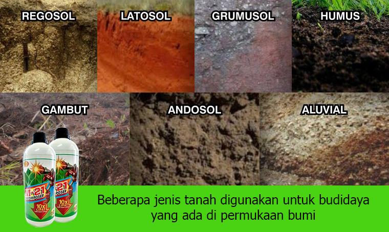 metode menetralkan ph tanah jenis-jenis tanah
